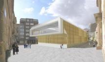 El Ayuntamiento concluye el proyecto básico del mercado de abastos y lo presenta en Comisión