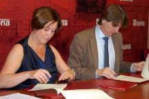 Ayuntamiento y Cámara rubrican un convenio marco de colaboración y un acuerdo para la gestión de la Escuela de Educación Infantil del polígono
