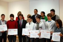 El II Concurso Jóvenes Gestores cierra una nueva edición con la entrega de los premios y el apoyo en solitario del Ayuntamiento de Soria y la UVA
