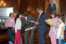 El Pleno Infantil elige un rocódromo en el Castillo del Colegio Prácticas Numancia como proyecto ganador de los Presupuestos 2012