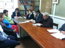 Carlos Martínez se reúne con los vecinos de San Pedro para escuchar sus demandas