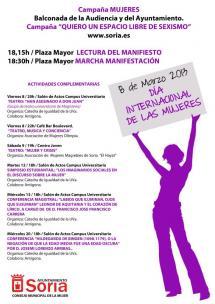 """El Consejo Municipal de la Mujer organiza un programa para """"visualizar"""" a la mujer en la vida pública de la mano de las diferentes asociaciones"""