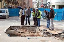 El Ayuntamiento aprobará una modificación presupuestaria para no retrasar las obras de la 'tapa' del Espolón