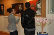 Imagen de la inauguración de la exposición del pasado año.
