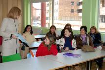 Imagen de una de las clases de los talleres de formación.