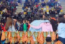 La entrega de premios pone el broche final al Trofeo Navidad con más de 1.100 participantes y a las actividades deportivas