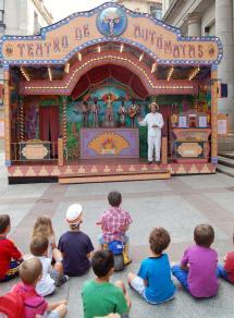 Imagen del Teatro de Autómatas que ha inaugurado la actividad.