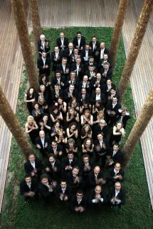 Foto de la Orquesta de Castilla y León.