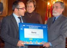 UNICEF entrega a Soria una mención por su proyecto de Presupuestos Infantiles
