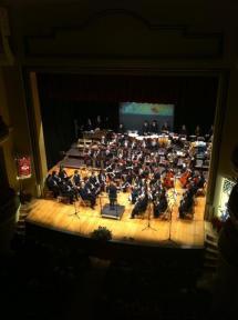 Concierto de la Banda en la Audiencia.