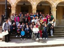 Visita del colegio Santa Isabel.