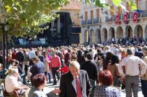 Imagen de las pasadas fiestas de San Saturio.