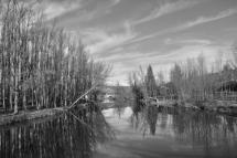 Imagen del Duero a su paso por Soria. J.M.Oviedo