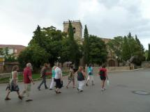 Visita guiada a la altura de la iglesia del Espino.