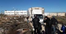 Imagen del camión desde el que se han soltado los ejemplares.
