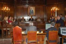 Pleno en el Ayuntamiento de Soria