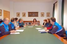 Reunión de coordinación del Parque de Tráfico.