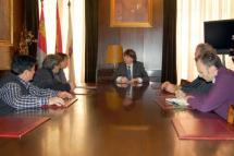 Ayuntamiento y Agrutranso avanzan en el acuerdo para la gestión del centro logístico