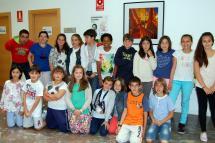 Miembros del Consejo Escolar que ayer eligió los finalistas de los Presupuestos Infantiles