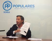 Adolfo Sainz, en rueda de prensa