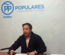 El concejal del PP, Adolfo Sainz